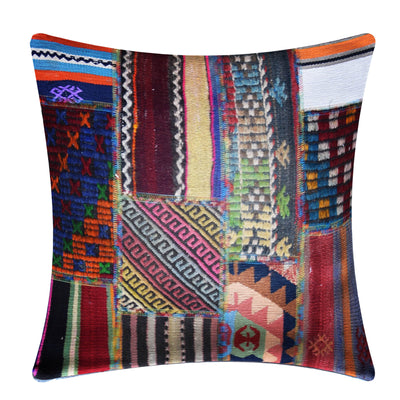 KLIM HANDMADE OVER DYED CUSHION COVER 55X55 KEL