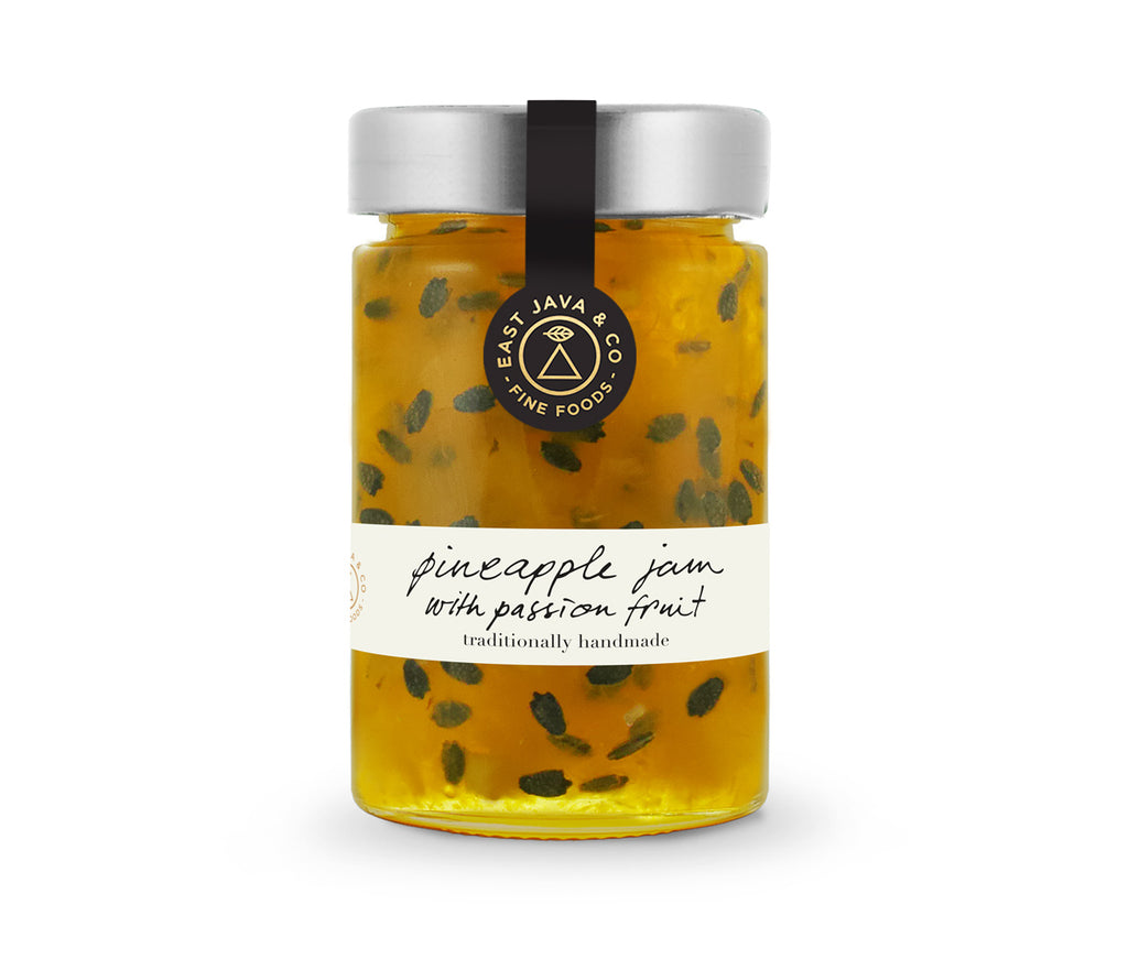 Pineapple Jam with Passion Fruit - 250g