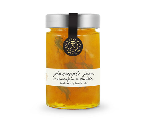 Pineapple Jam with Rosemary and Vanilla - 250g