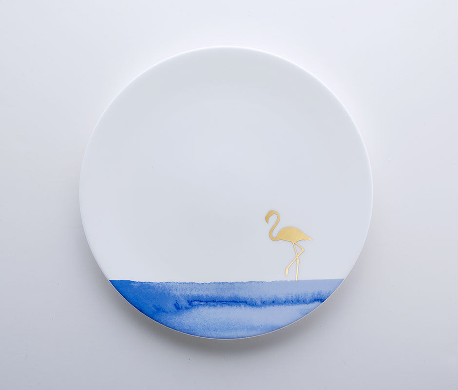 Blue Jungle - Flamingo Coupe Plate 22cm