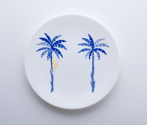 Blue Jungle - Monkey Coupe Plate 22cm