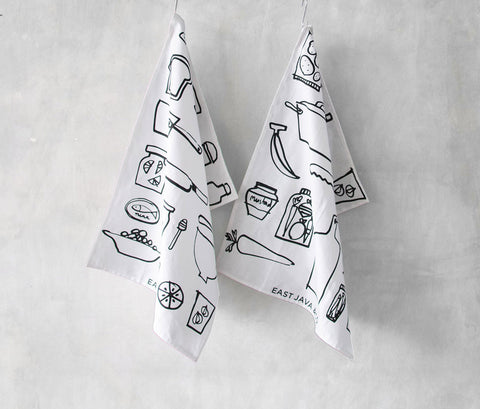 Kitchen Towel Pantry - Set of 2