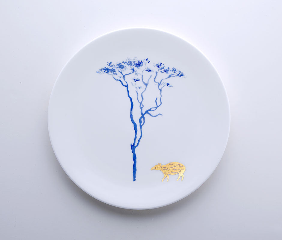 Blue Jungle - Tapir Coupe Plate 22cm