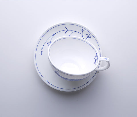 Clerkenwell Blue - Tea Cup & Saucer