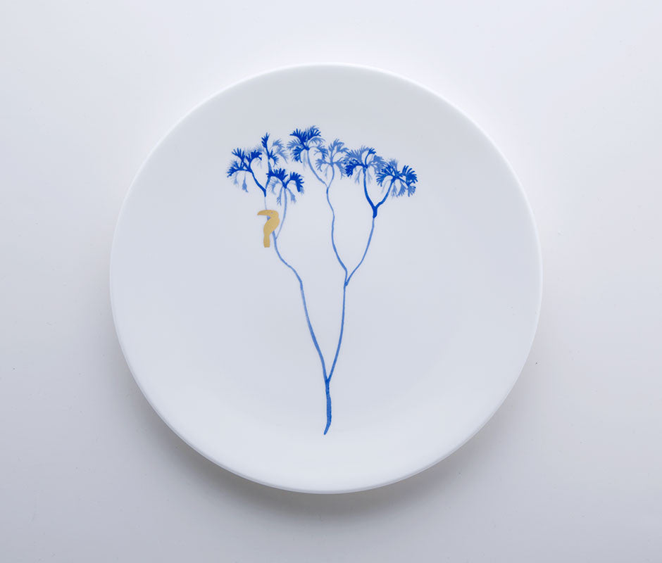Blue Jungle - Tucan Coupe Plate 22cm