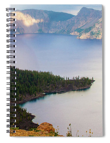 Crater Lake National Park - Spiral Notebook