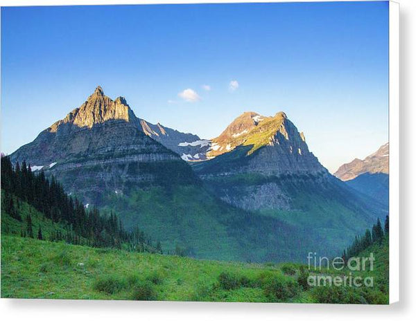 Glacier National Park - Canvas Print