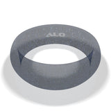 ALO Premium Silicone Ring - ladies translucent gray