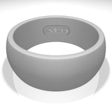 ALO Premium Silicone Ring - Men Gray