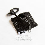 TrendyBracelets.Biz.Mesh Bag for ALO Ring Transport