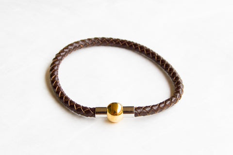 Milan Braided Bracelet with Magnetic Clasp