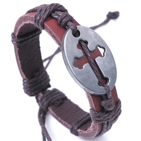 I Love Jesus Cross Bracelet
