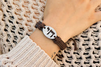 "Chai ""Life"" Leather Bracelet - Constant reminder to celebrate life!"