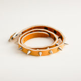 TrendyBracelets.Biz.Ladies Wrap Bracelet with Spikes