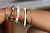 TrendyBracelets.Biz.Ladies Fashion Bangle Set - 9 separate bands