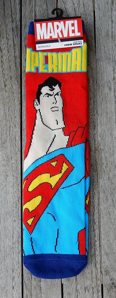 Comic Series Crew Socks - Teen and Adult Size