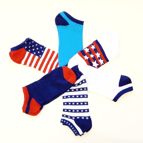 Ladies' National Pride Ankle Socks