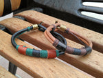 TrendyBracelets.Biz.Southwest Leather and Hook - Today's Special Price