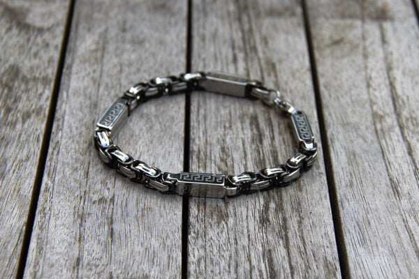 City Chic Sectioned Metal Bracelet
