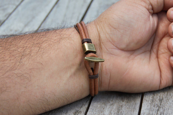 "Bracelet worn comfortably on wrist of 8.25"" in circumference"