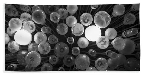 Abstract ceiling lights - Bath Towel