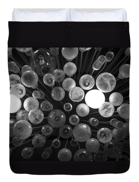 Abstract ceiling lights - Duvet Cover