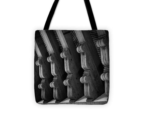 Abstract New Mexico celiling beams - Tote Bag