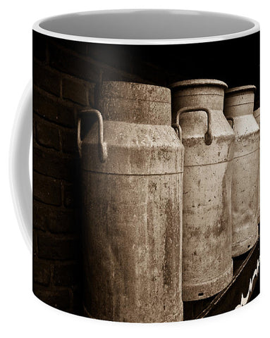 AMS-0031-Milk Canisters In Edam - Mug
