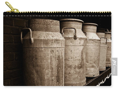 AMS-0031-Milk Canisters In Edam - Carry-All Pouch