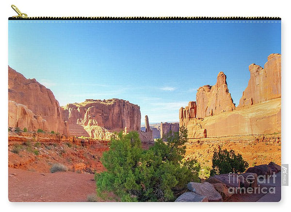 Arches National Park Courthouse Towers - Carry-All Pouch