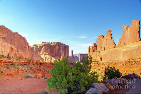 Arches National Park - Wall Street - Art Print