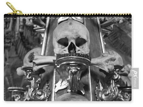Bone Church Ornaments Kutna Hora Czech Republic - Carry-All Pouch