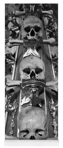 Bone Church Ornaments Kutna Hora Czech Republic - Yoga Mat