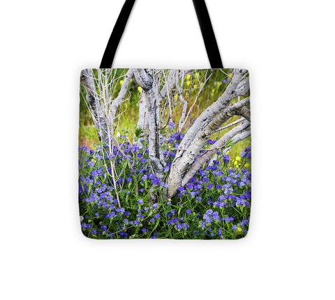 California flowers during the 2019 Superbloom - Tote Bag