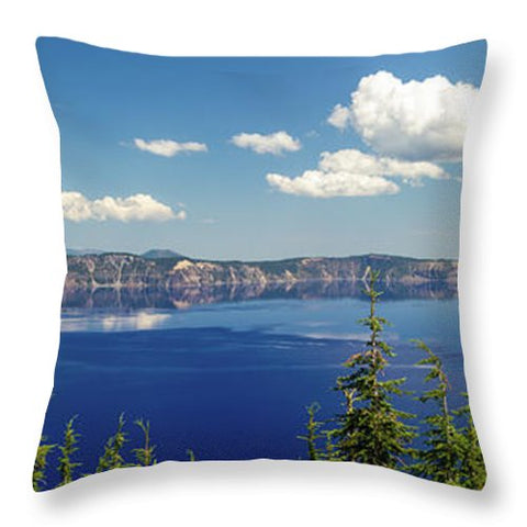 Crater Lake - Throw Pillow