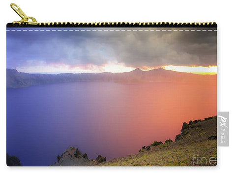 Crater Lake National Park at Sunset - Carry-All Pouch