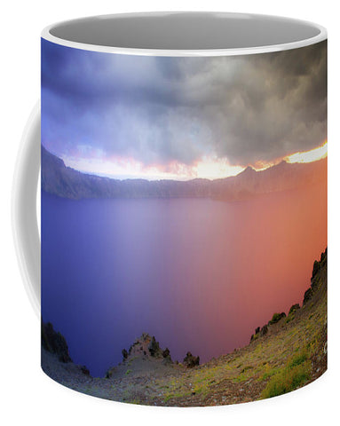 Crater Lake National Park at Sunset - Mug