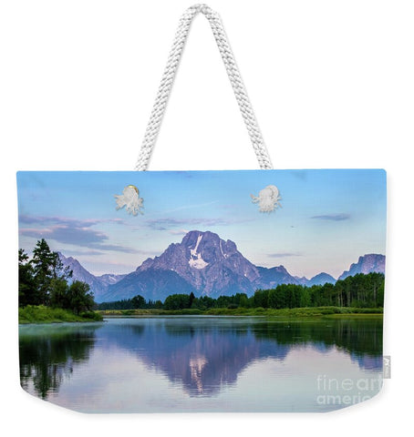 Grand Teton National Park - Oxbow Bend - Weekender Tote Bag