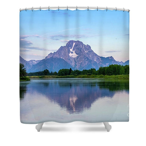 Grand Teton National Park - Oxbow Bend - Shower Curtain