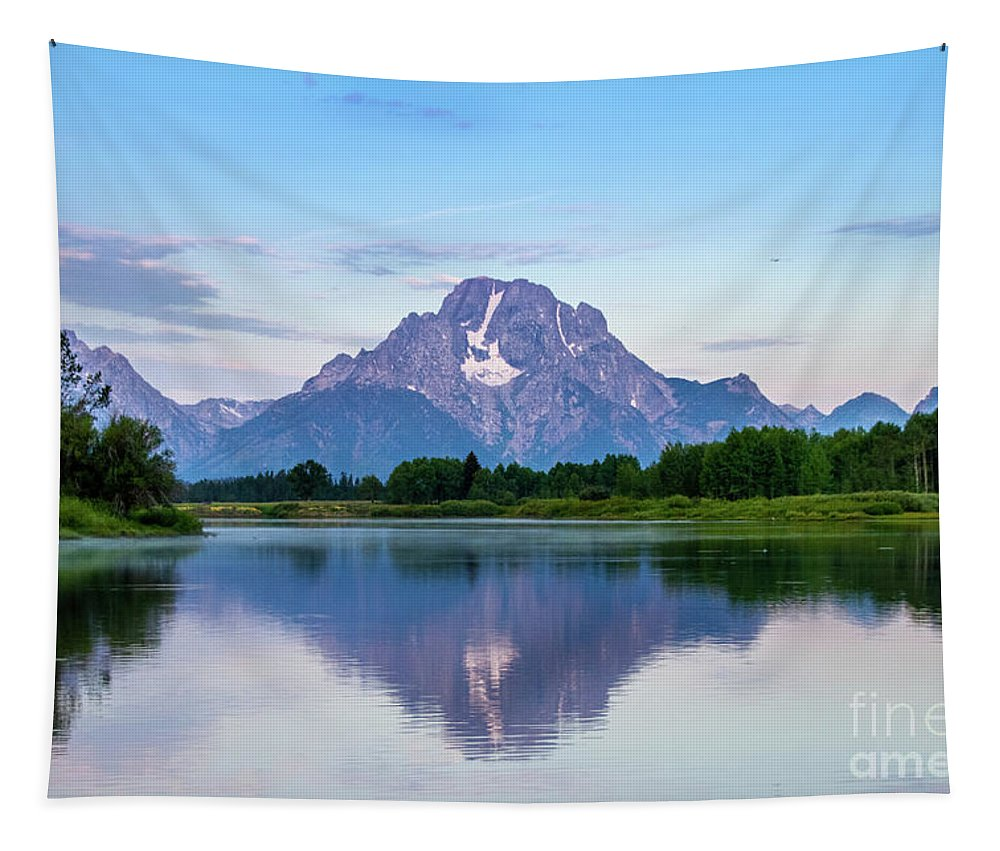 Grand Teton National Park - Oxbow Bend - Tapestry