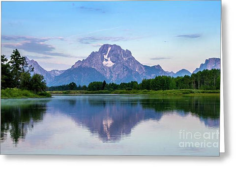 Grand Teton National Park - Oxbow Bend - Greeting Card