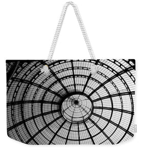 ITL-0016-Glass Ceiling At The Milan Gallery Round - Weekender Tote Bag