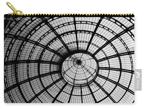 ITL-0016-Glass Ceiling At The Milan Gallery Round - Carry-All Pouch