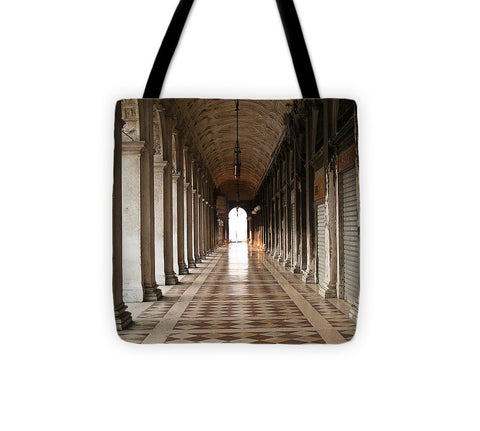St Marks Square Market Venice Italy - Tote Bag