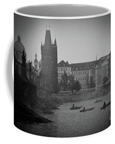 Sunrise on Misty Morning - Mug