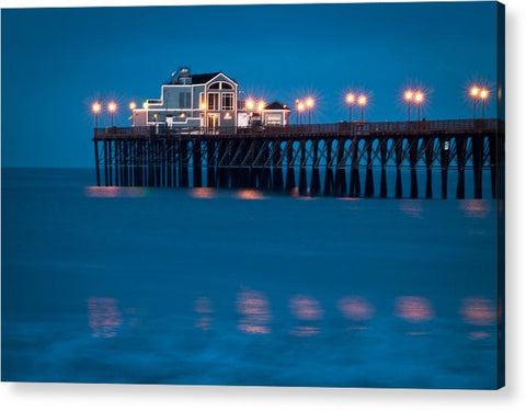 USA-0013-Oceanside Pier Just Before Sunrise - Acrylic Print