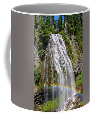 Waterfall at Mt. Rainier - Mug