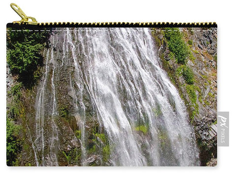 Waterfall at Mt. Rainier - Carry-All Pouch