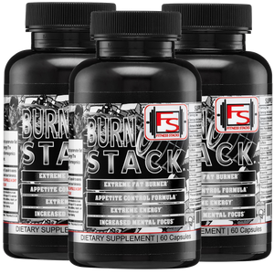 Buy 3 Burn Stack and Save $20 - Fitness Stacks