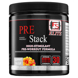Elite Pre-Stack Preworkout Supplement - Fitness Stacks